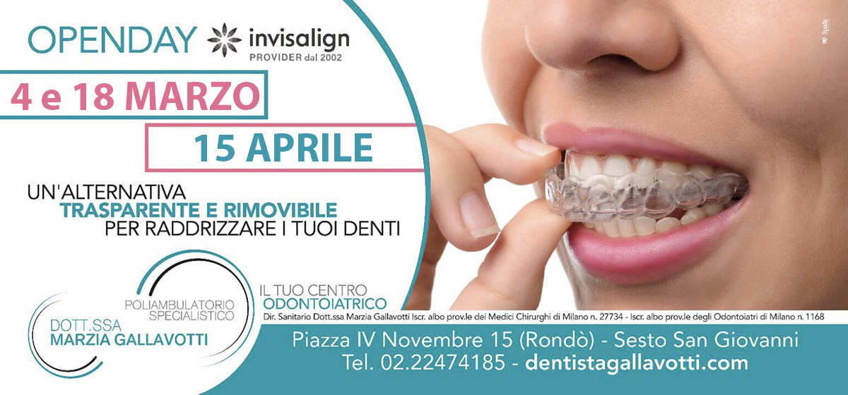 openday-invisalign-dentista-sesto-san-giovanni